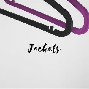 Jackets, Blazers, and Vests